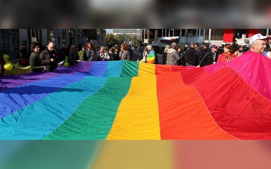 Belgrade vyko homoseksualų eitynės