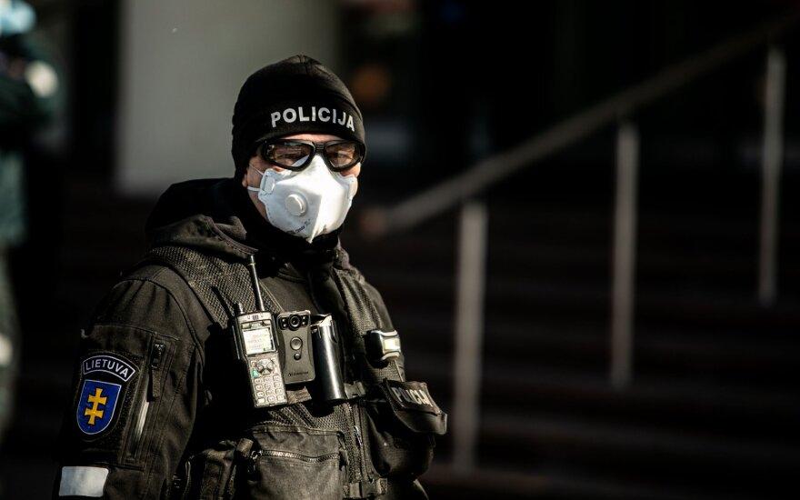 Во время карантина полиция оштрафовала за нарушения более 3 000 человек
