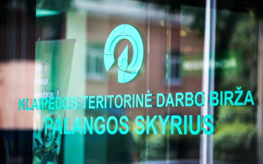 Klaipėdos teritorinė darbo birža, Palangos skyrius
