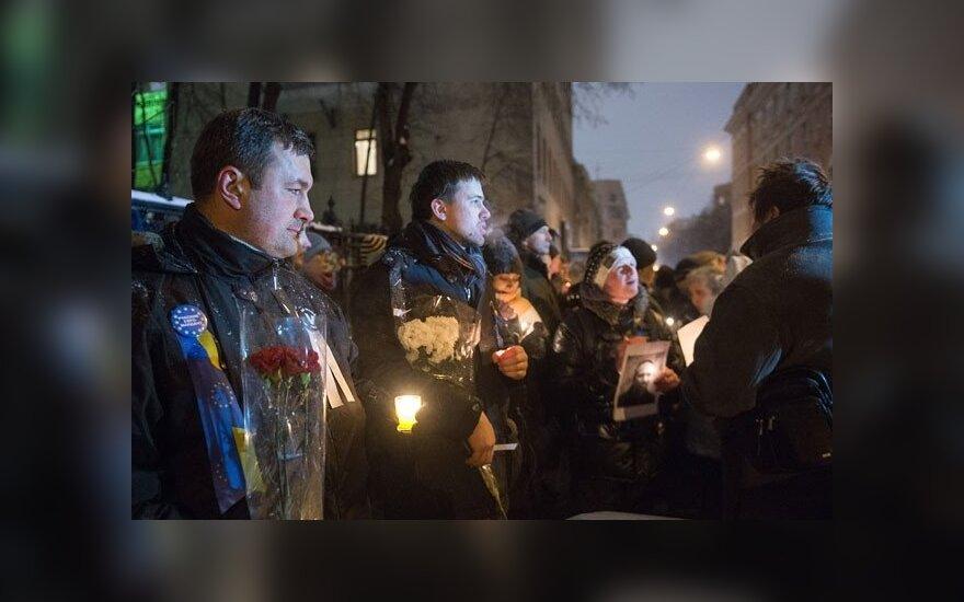 В Москве задержаны участники акции солидарности с протестующими в Киеве