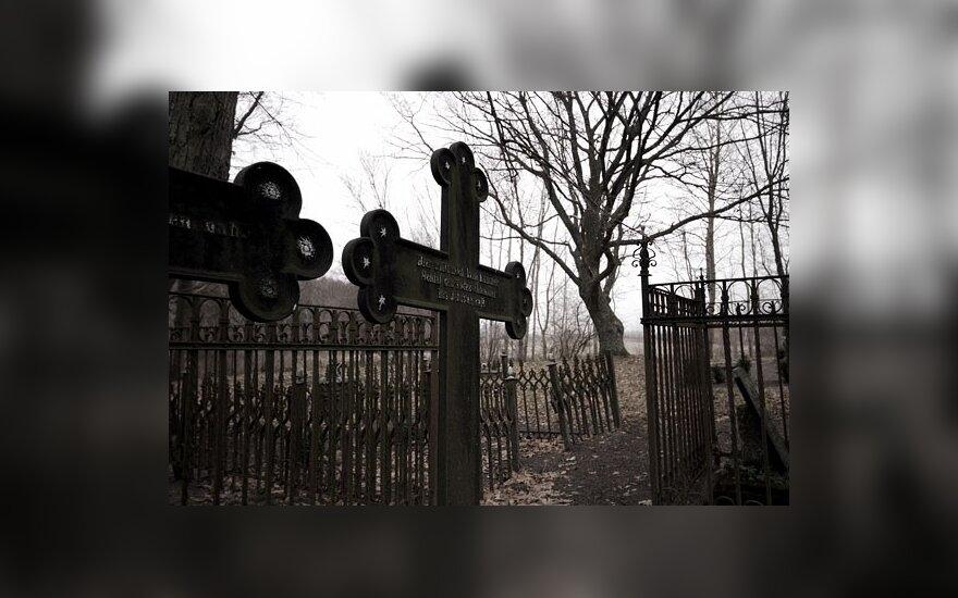 Предлагают лишать свободы за осквернение могил