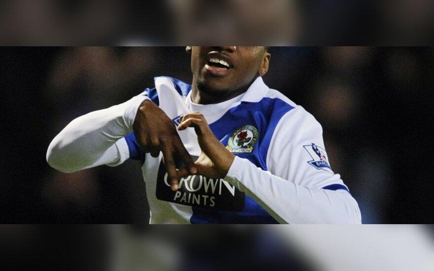 """Davidas Hoilett (""""Blackburn Rovers"""")"""