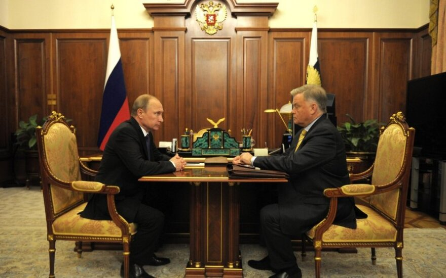Путин обсудил с бывшим главой РЖД Якуниным его будущее место работы