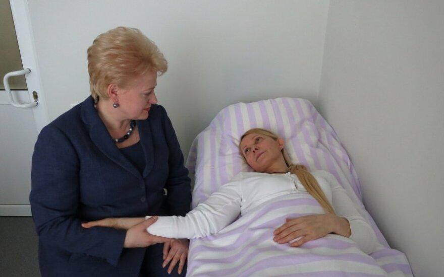 Grybauskaitė spotkała się z Tymoszenko