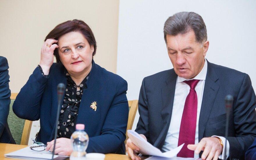 Loreta Graužinienė, Algirdas Butkevičius