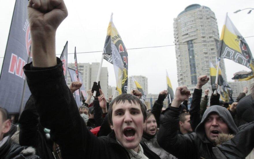 """В Москве задержан организатор """"Русского марша"""""""