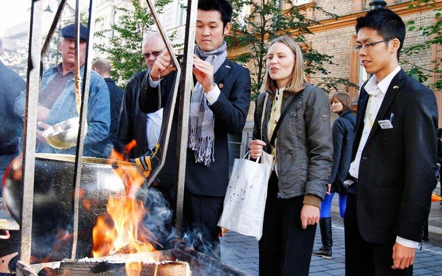 В Литву привлекают туристов из Японии