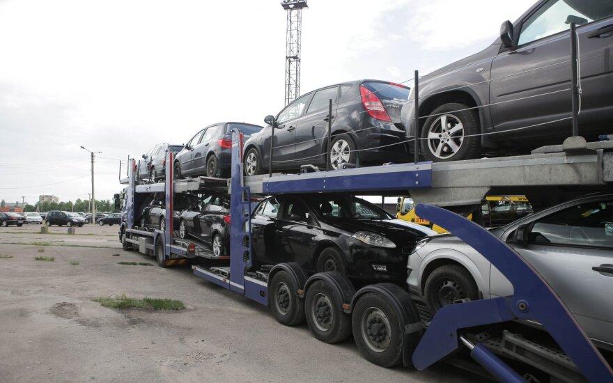 Рынок новых автомобилей в Литве сократился на 26,9%