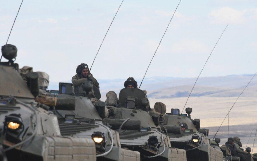 Rusijos kariai pratybose