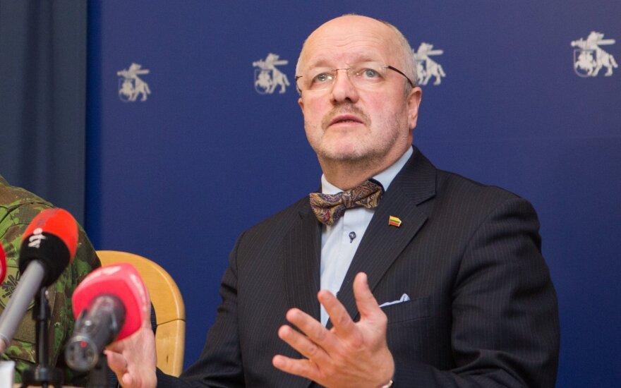 Krašto apsaugos ministras Juozas Olekas