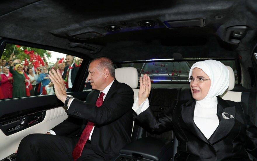 Recepo Tayyipo Erdogano inauguracija