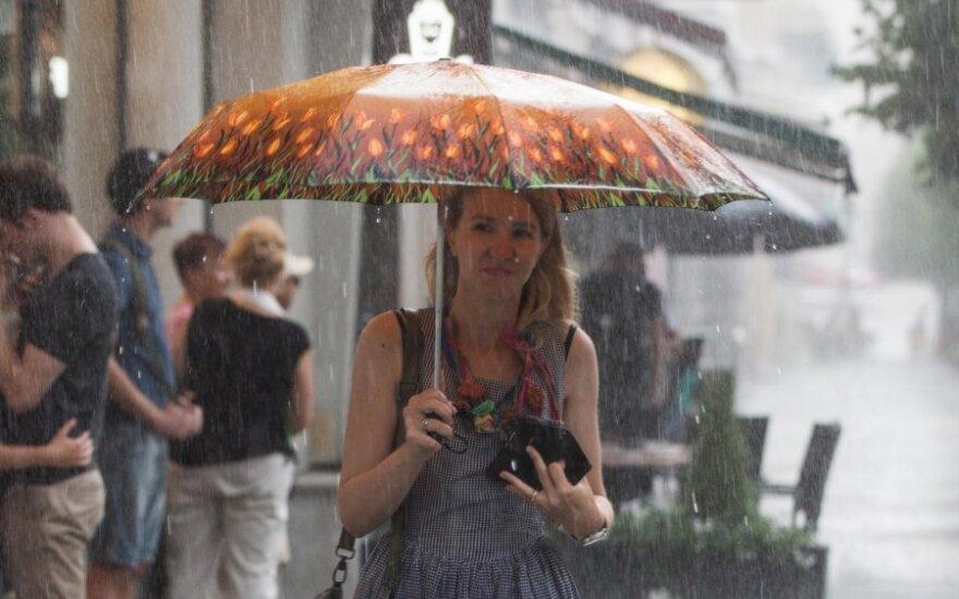 Погода: ожидается прохлада и дожди