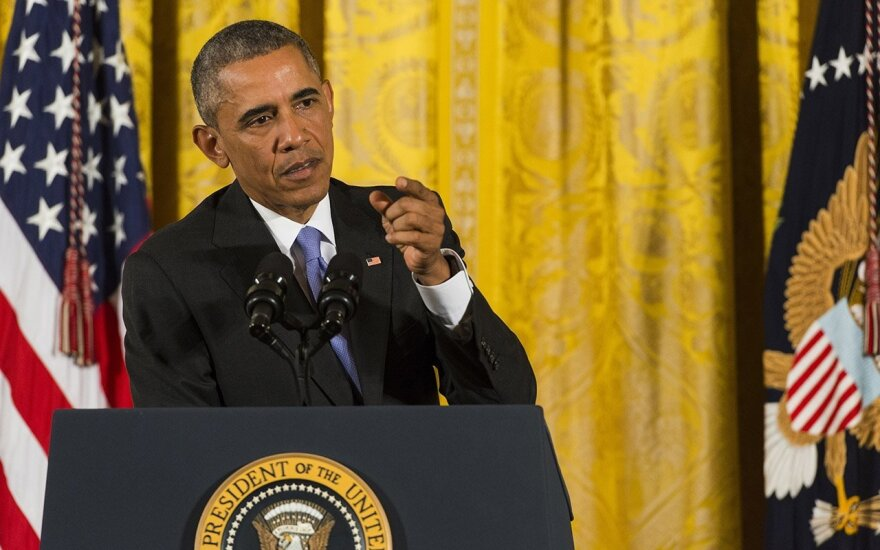 President Obama defends nuclear deal with Iran  Photo Ludo Segers