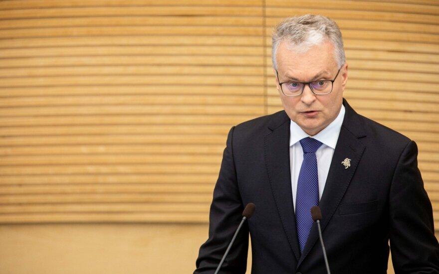 Науседа: уровень риска бедности в Литве все еще очень высок