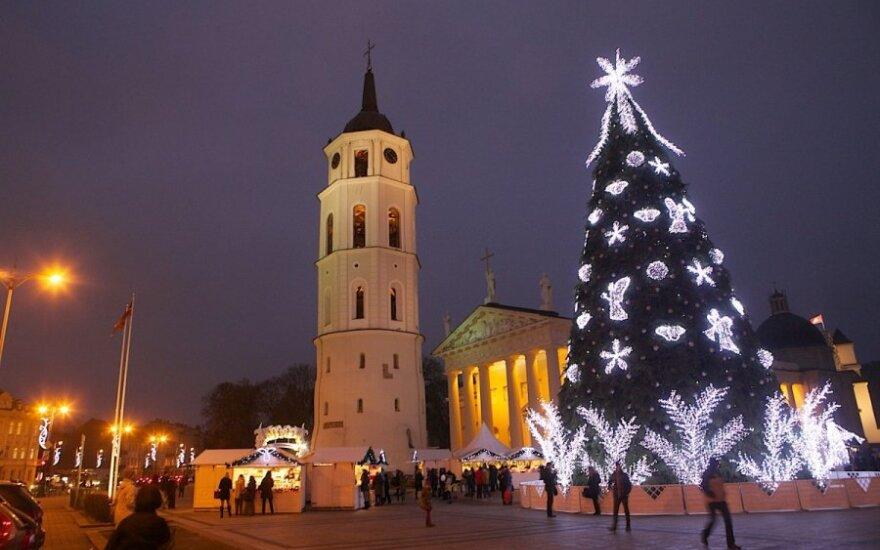 Россия: Вильнюс вошел в топ-3 рейтинга для поездок на Рождество