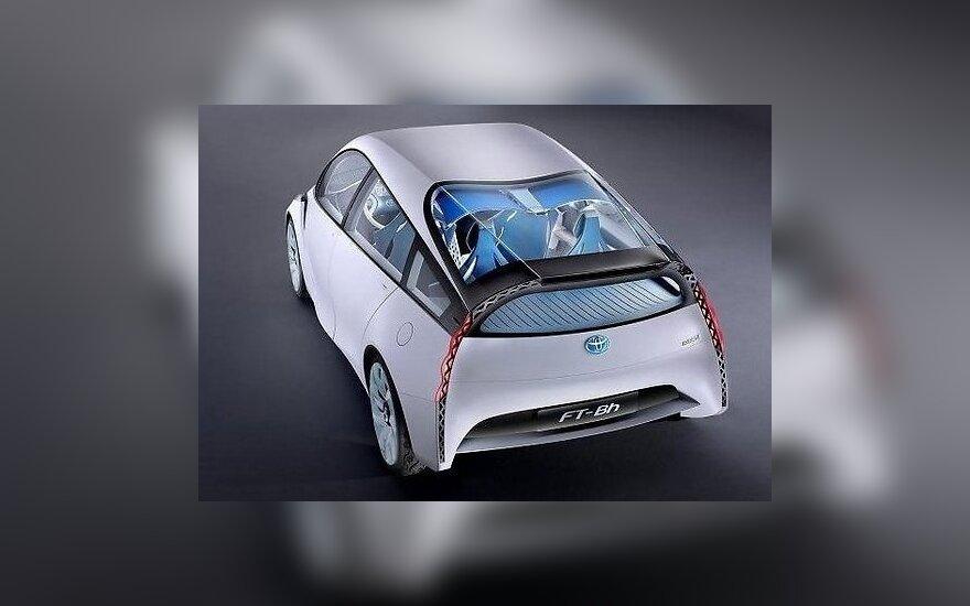 Женева-2012: футуристичный концепт Toyota поражает воображение