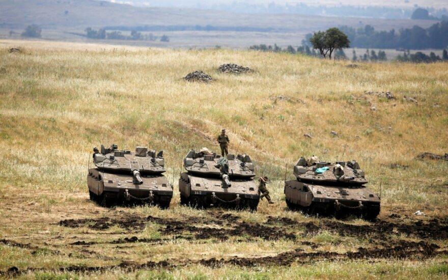Израиль обвинил иранских военных в ракетном обстреле Голанских высот