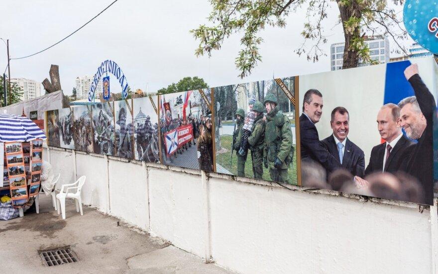 Литва не признает организованные РФ выборы в местные органы власти в Крыму