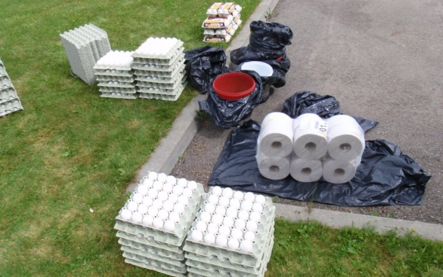 Полиция задержала охранников с украденными яйцами