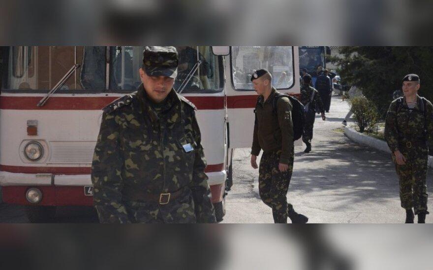 Освобождены все захваченные ранее в Крыму офицеры