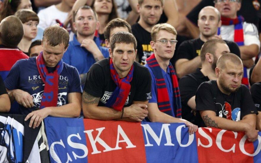 Maskvos CSKA futbolo klubo fanai
