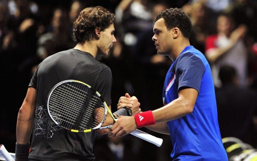 Rafaelis Nadalis ir Jo-Wilfriedas Tsonga