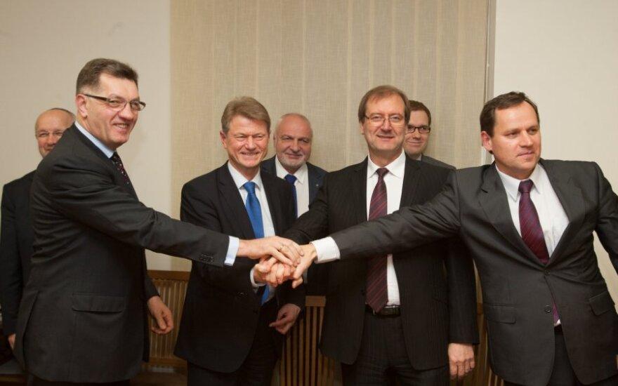 Грибаускайте не отрицает: коалицию ожидают перемены