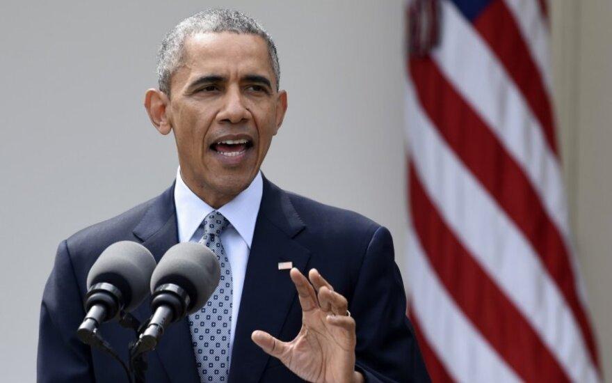 B, Obama