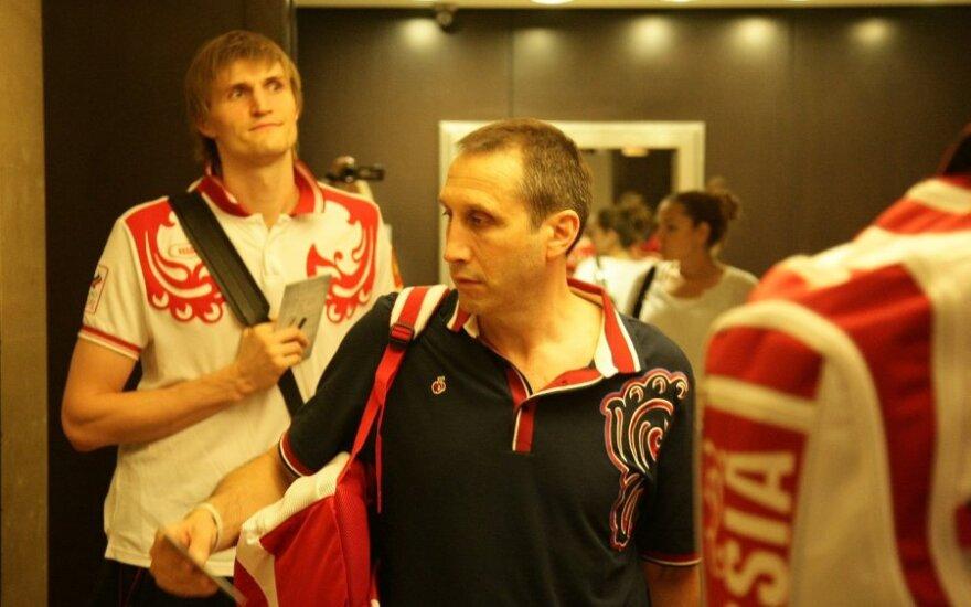 Andrejus Kirilenka ir Davisas Blattas