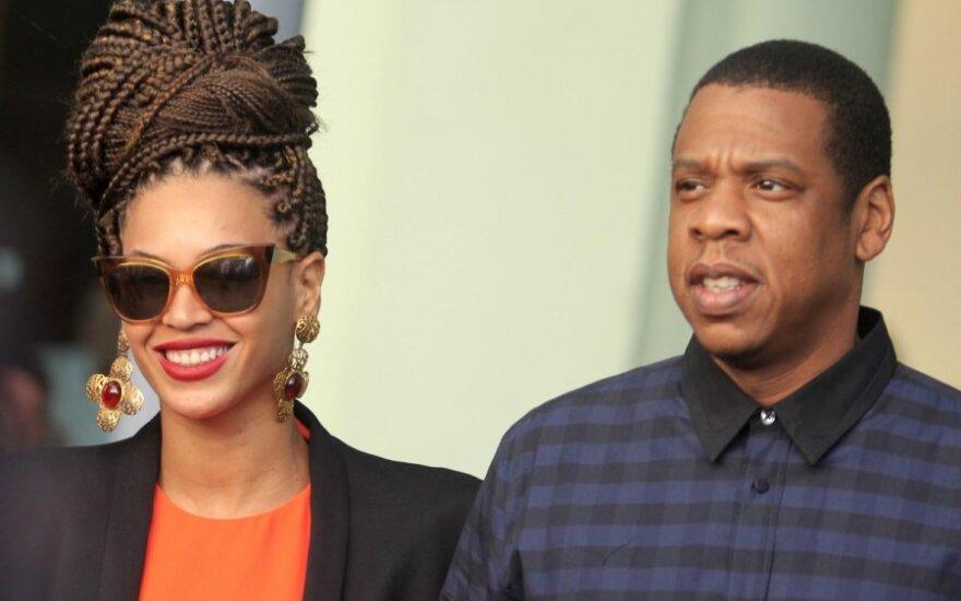 Beyonce ir Jay-Z Kuboje