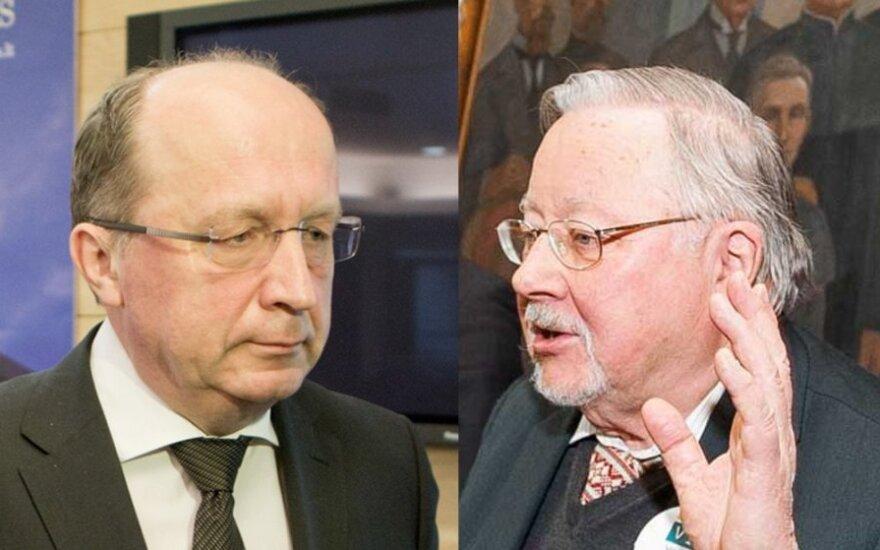 Andrius Kubilius, Vytautas Landsbergis