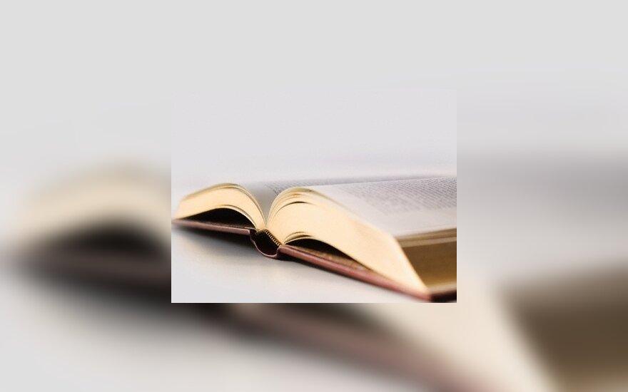 Knyga, skaitymas, biblioteka, leidinys