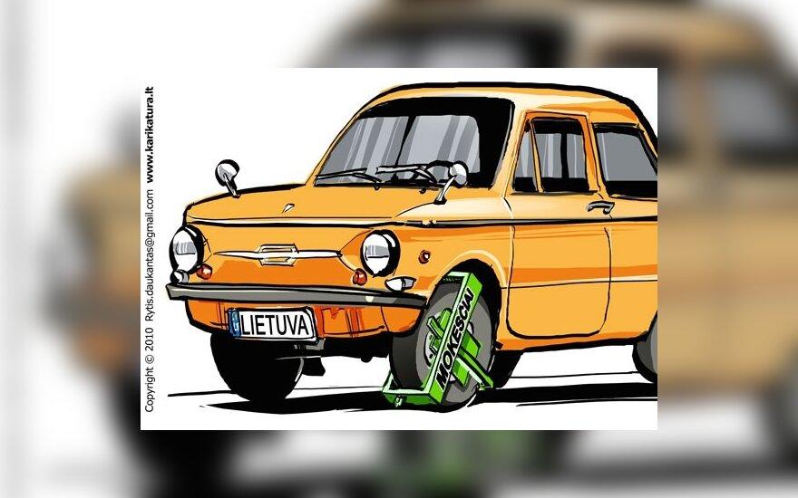 Жители Литвы считают, что автомобильный налог для всех не нужен