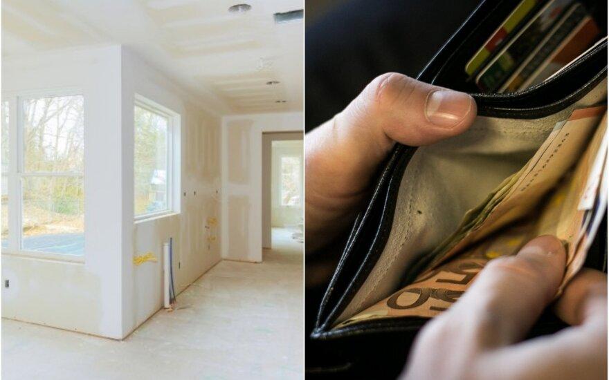 Jaunimo reikalavimai naujam būstui kai kuriems tėvams gali gerokai patuštinti piniginę