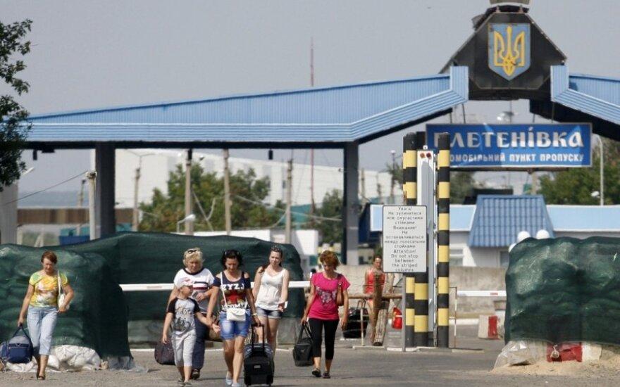 Украинская гуманитарная помощь Донбассу выехала в зону АТО