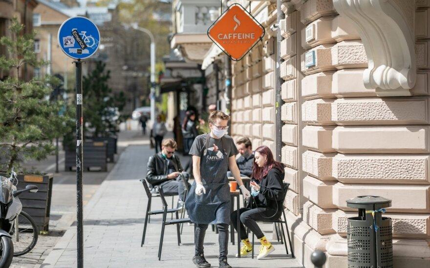 Lauko kavinės Vilniuje