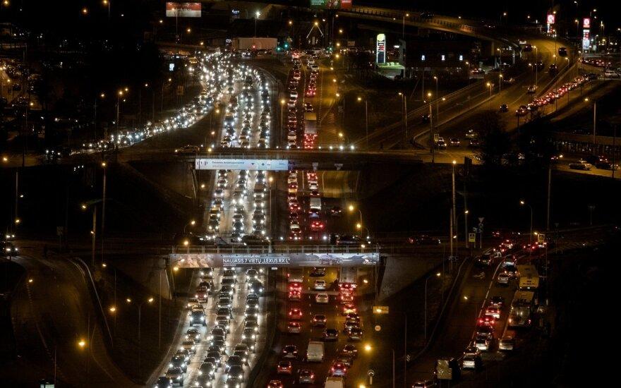 Москва вышла на первое место в мире по загруженности дорог