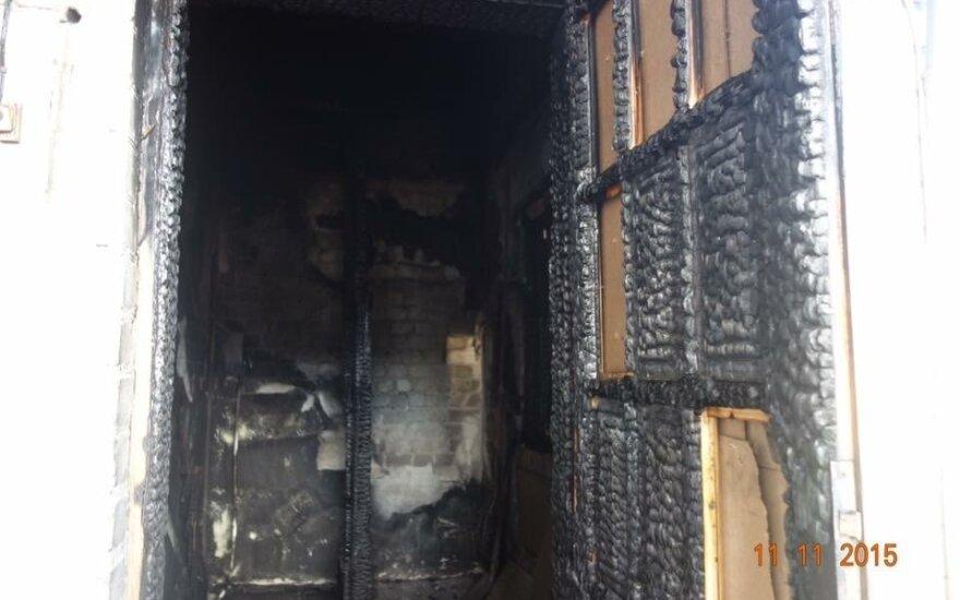 W Czarnym Borze spalił się dom