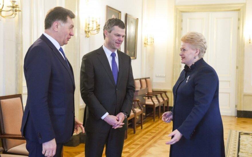 Darius Jauniškis, Dalia Grybauskaitė, Algirdas Butkevičius