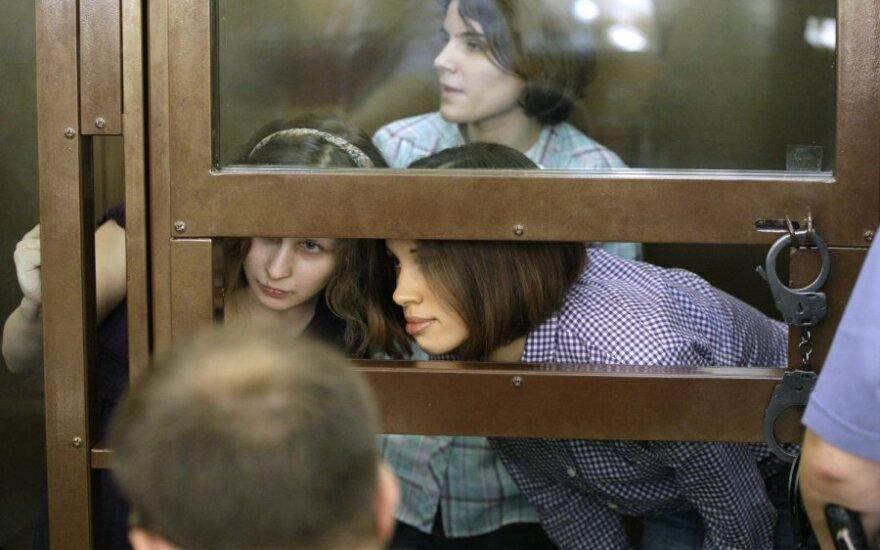 Прокурор требует для участниц Pussy Riot 3 года колонии