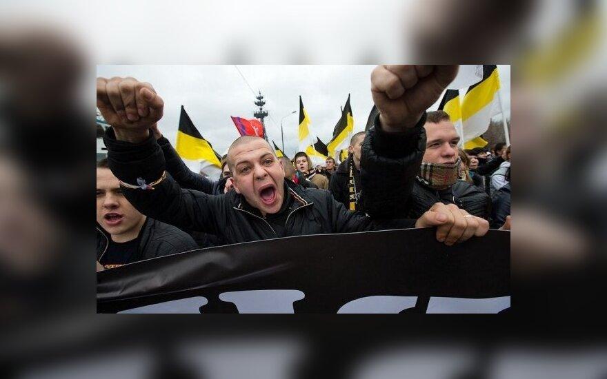 МИД Украины обеспокоен активизацией фашизма и ксенофобии в России