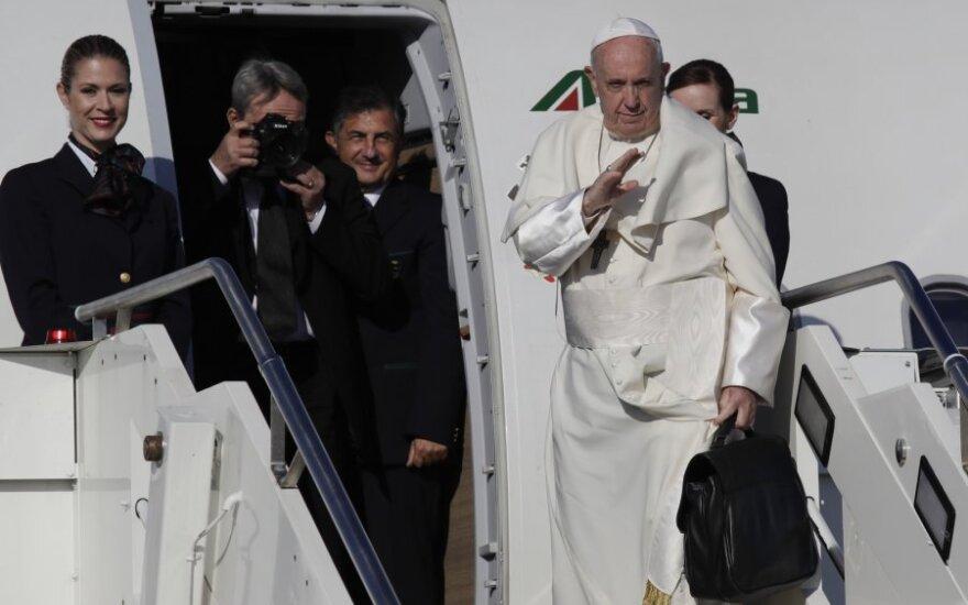 Popiežius lankosi Rumunijoje