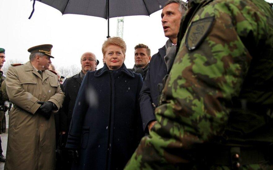 Президент Литвы от своих слов о России не отказывается