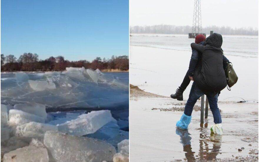 Ledonešis Rusnėje