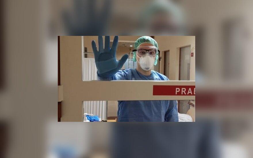 Положение в каунасской ковидной больнице приближается к критическому: не хватает врачей