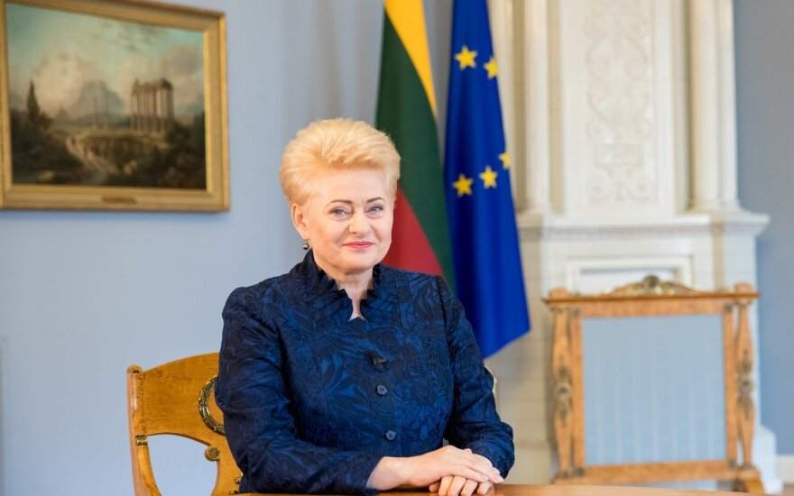 Президент Литвы вступит в Сейме с годовым сообщением