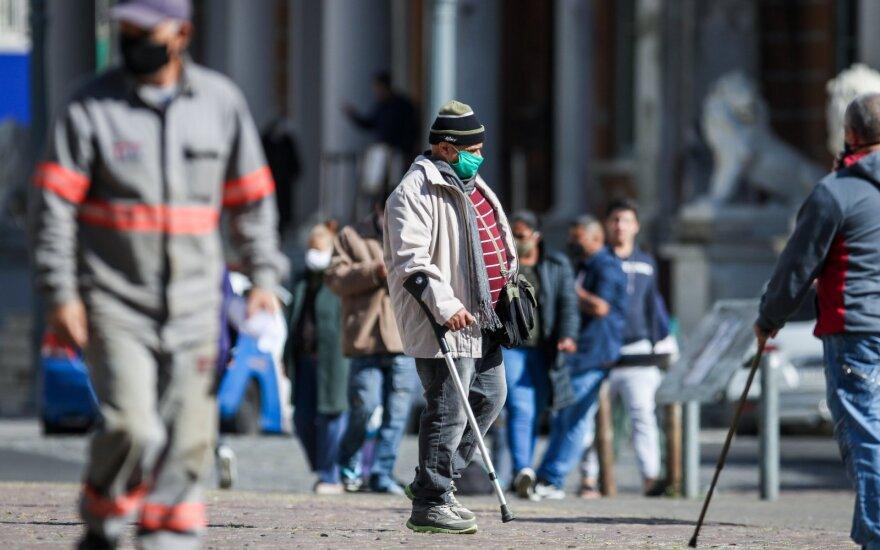 В Бразилии за сутки выявлено 20 тысяч заражений коронавирусом