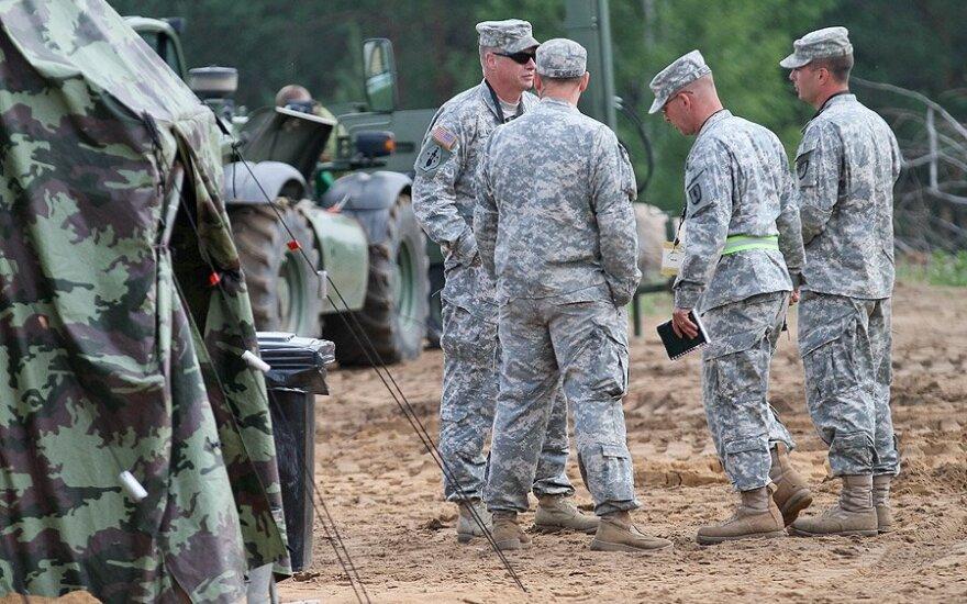 На военных учениях в Литве разрабатывались планы обороны страны