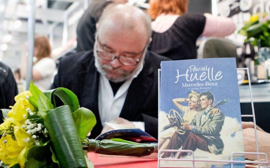 Paweł Huelle jednym z najpopularniejszych pisarzy na Litwie