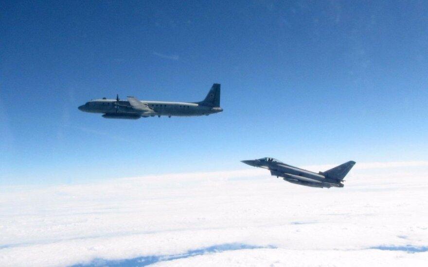 Истребители НАТО только раз сопровождали российский военный самолет